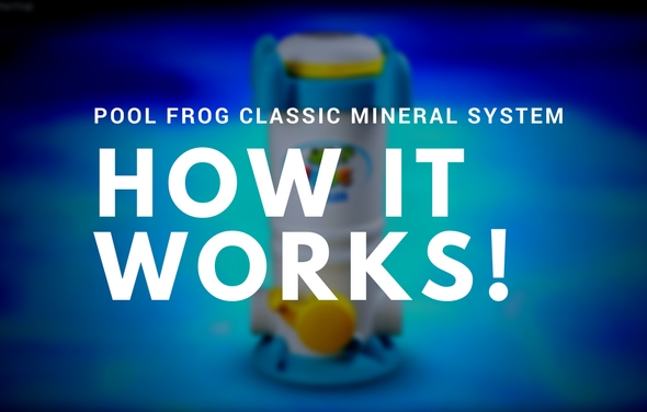 Pool Frog Mineral System - How It Works