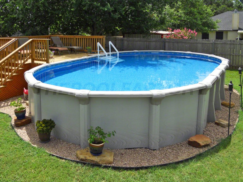 5 benefits of above ground pools the pool factory - Custom above ground pool ...