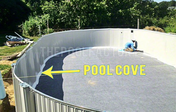 Pool Cove Installation Review Pool Liner Accessories