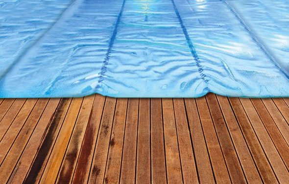Oversized Pool Solar Heat Cover