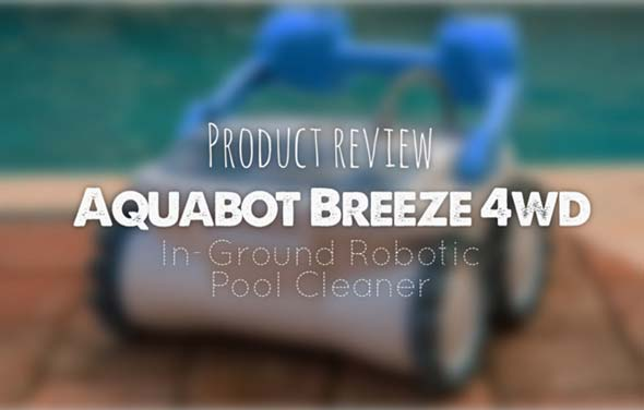 Aquabot ABREEZ4WD - In-Ground Robotic Pool Cleaner