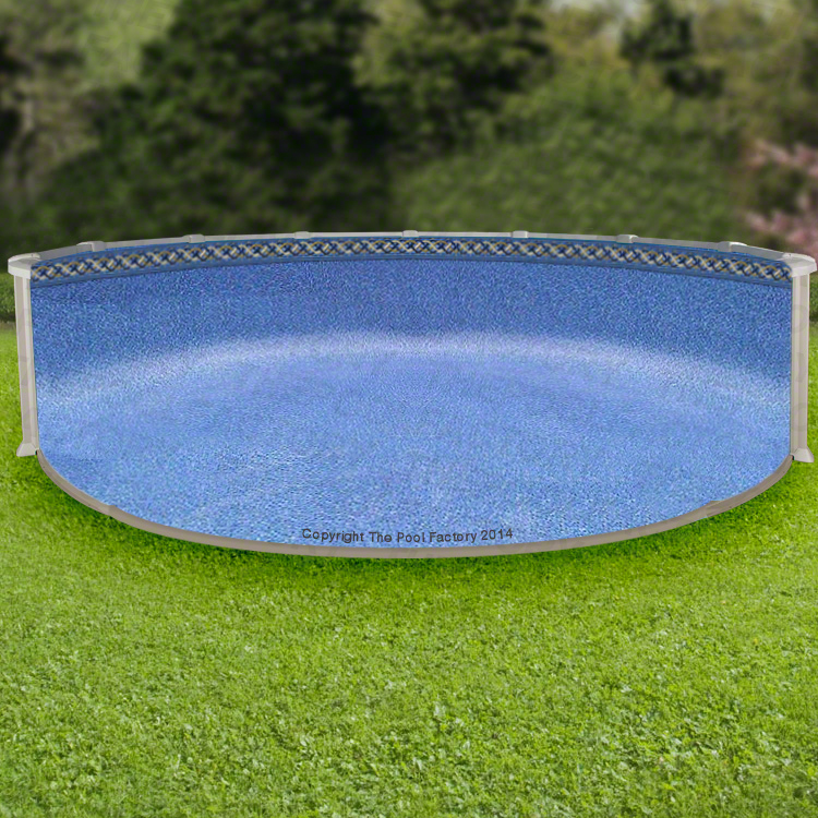 Above ground swiming pool pic ideas liners types for Pool installation