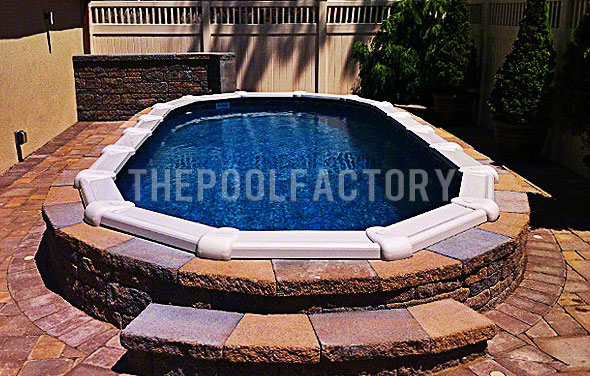 Landscaping Rocks Around Above Ground Pool : Landscaping around your above ground pool