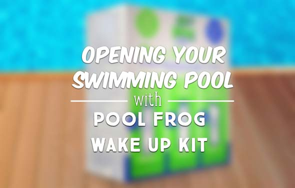 Opening Your Swimming Pool With Pool Frog Wake Up Kit