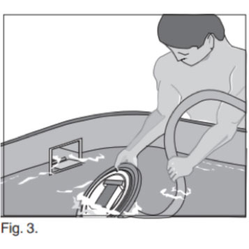 aquasphere pool cleaner assembly instructions
