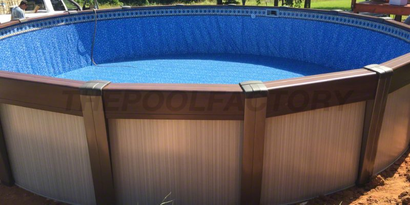 Contempra Round Abond Ground Pool