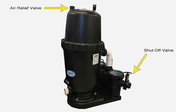 Pool Pump Pressure Release Valves
