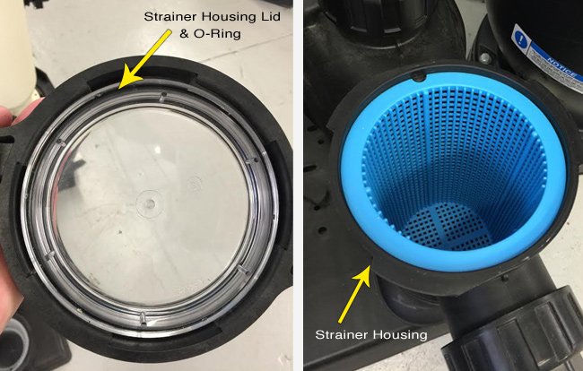 Pool Strainer Housing Parts