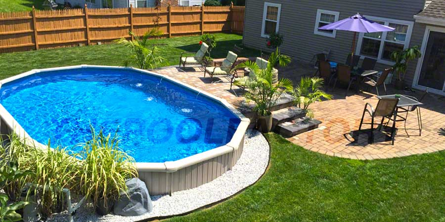 5 benefits of above ground pools the pool factory for Top of the line above ground pools