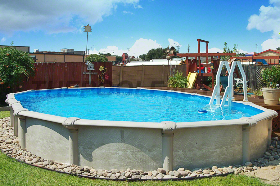 Semi Inground Pool Photos The Pool Factory