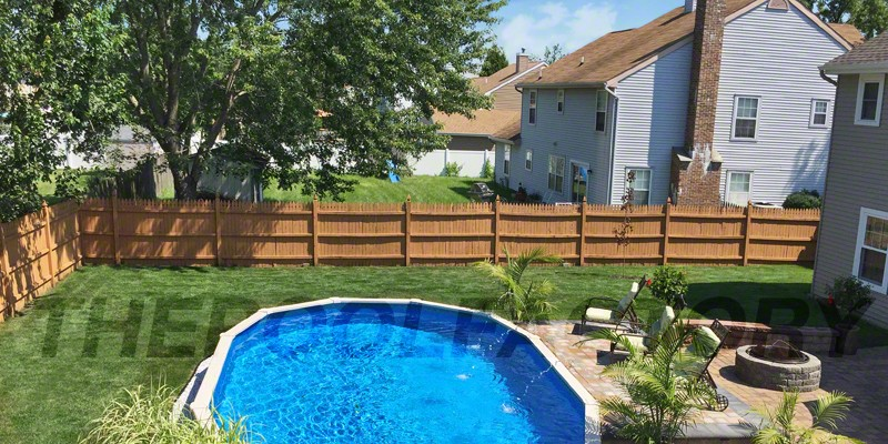 Above Ground Pool Landscaping