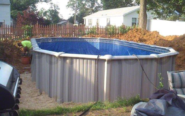 Intrepid Above Ground Pool Installation