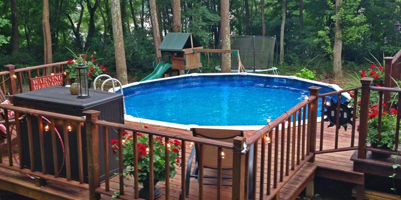 Above Ground Pool #520