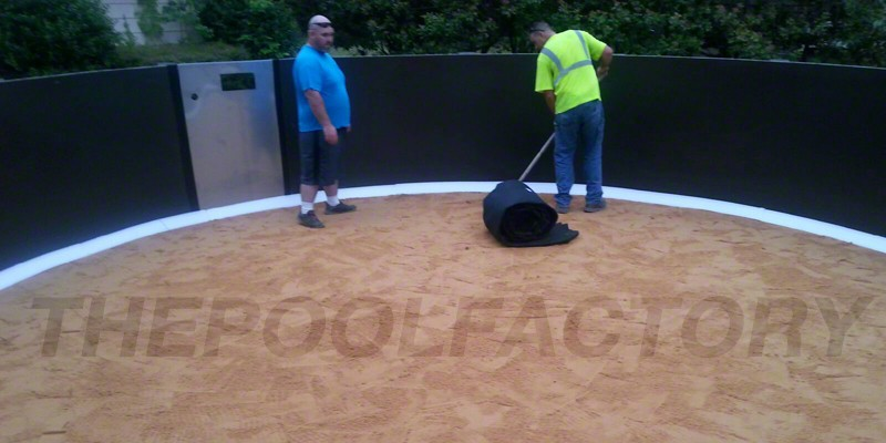 Above Ground Pool Installation Photos The Pool Factory