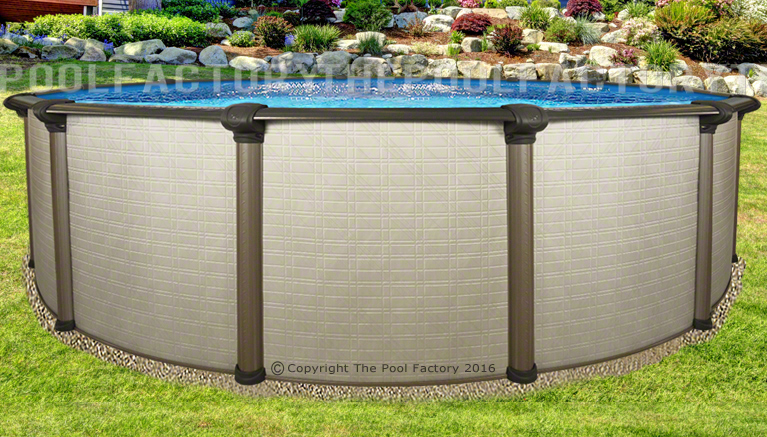 24x54 Quot Melenia Round Above Ground Swimming Pool With 25