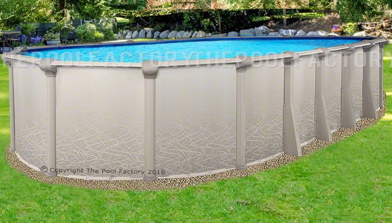 15x24x52 Oval Saltwater 5000 Above Ground Salt Swimming Pool With 25 Gauge Liner Ebay