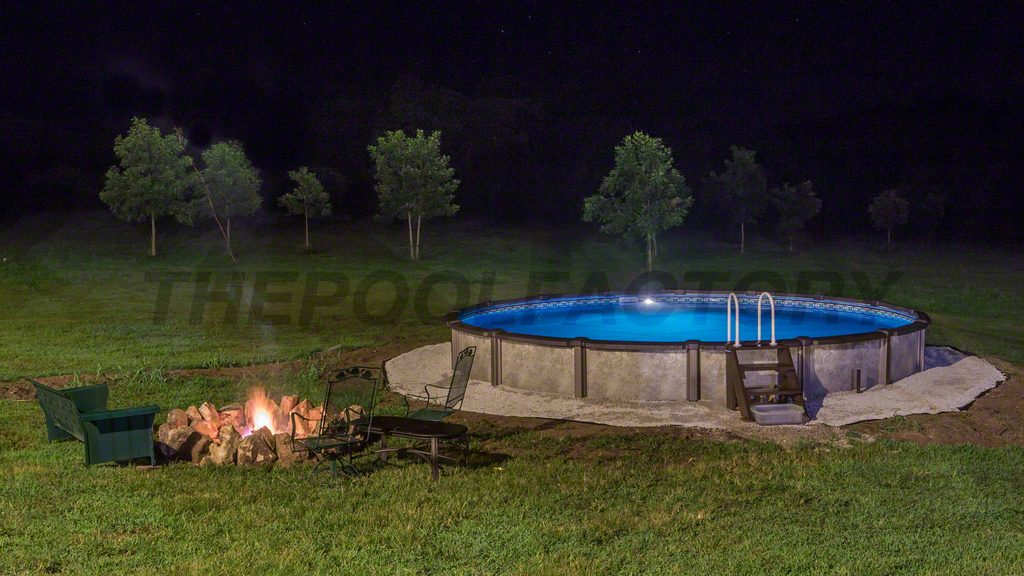 oval semi pool above ground backyard ideas with inground installation cost kits ontario