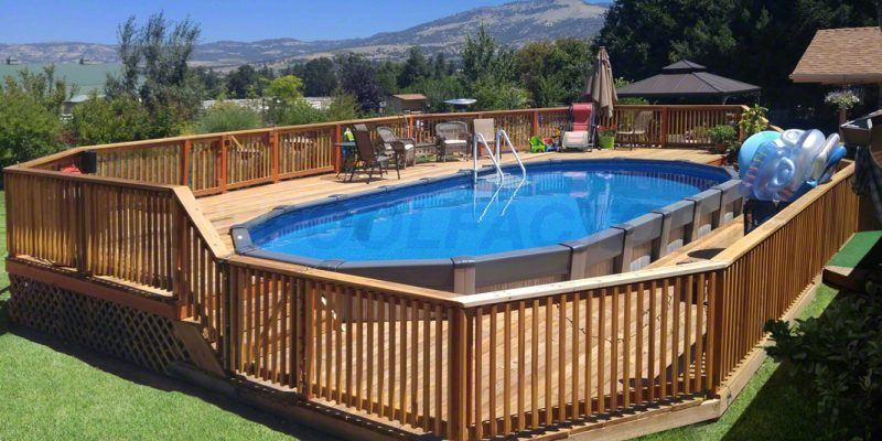 above ground pool 507 customer spotlight barry t 05 - Above Ground Pools With Decks