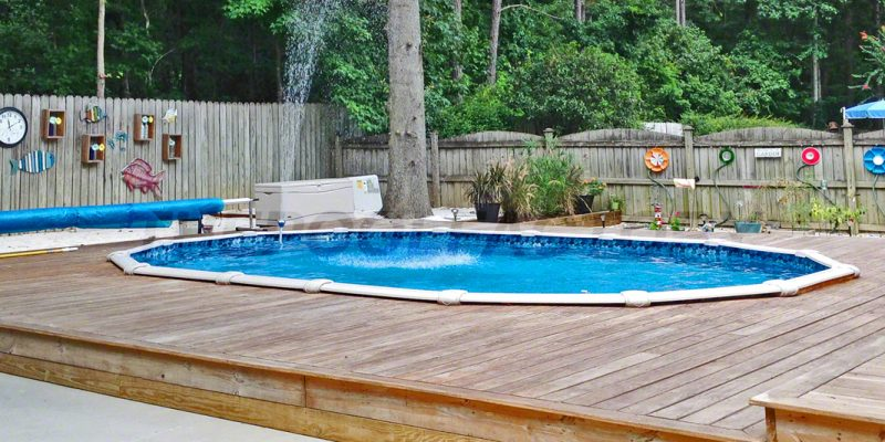 above ground pool cristian b 12 customer spotlight jim f 04 - Above Ground Composite Pool Deck
