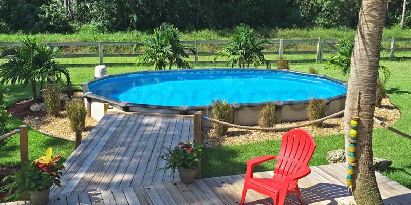 swimming pool decks materials above ground deck plans pools and patios customer spotlight