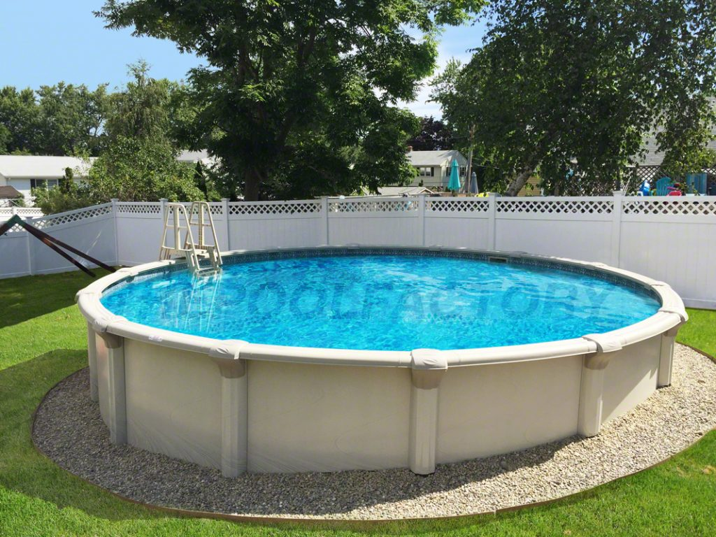 Semi above ground pools pictures to pin on pinterest for Most popular above ground pools