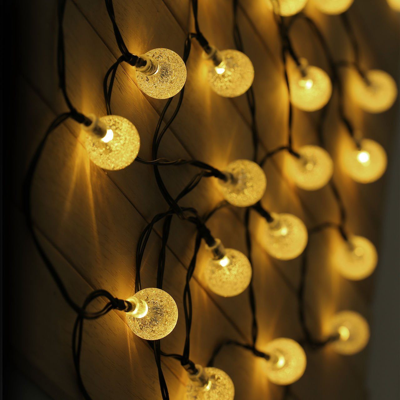 Exterior Solar String Lights : The 10 Best Lighting Ideas For Your Backyard