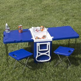 table-cooler-chairs-picnic