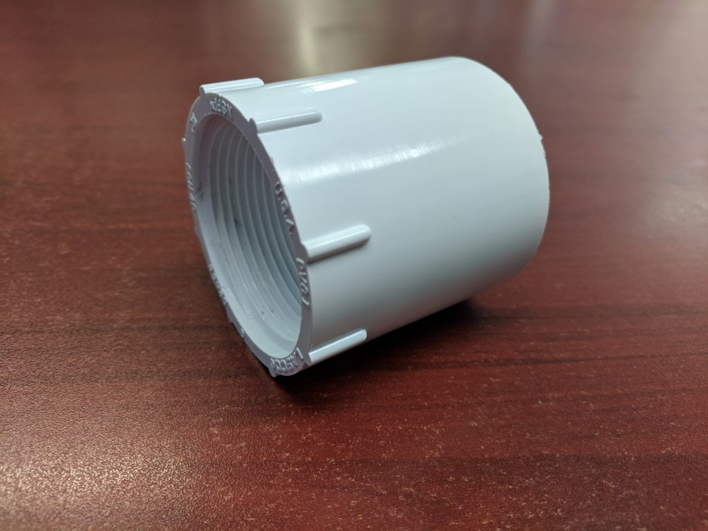 """Lasco 1.5"""" FPT X 1.5"""" SKT (Female X Slip) Adapter"""
