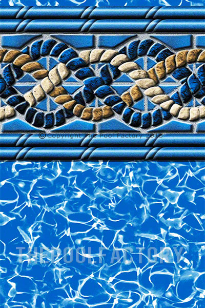 52 Quot Uni Bead Above Ground Swimming Pool Liners 25 Gauge
