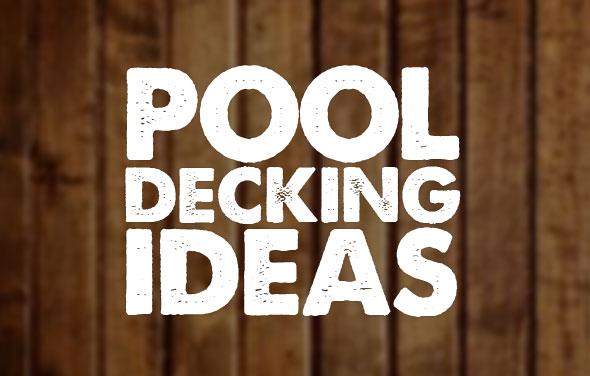 Above Ground Pool Decking Ideas