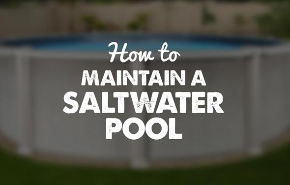 Saltwater Above Ground Pool