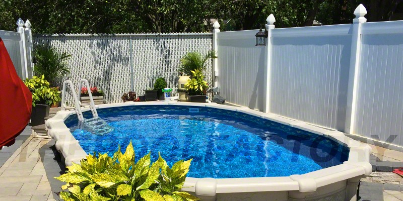 Hampton Oval Semi Inground Pool