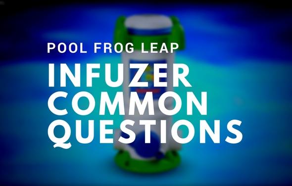 Pool Frog Infuzer System Troubleshooting