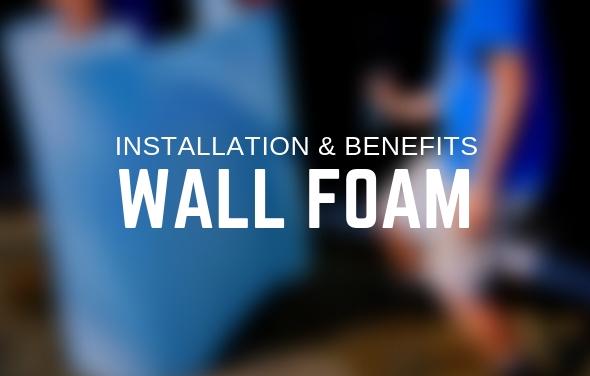 Pool Installation Wall Foam