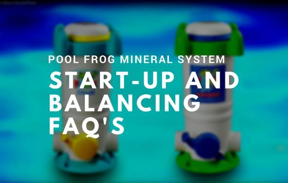 Pool Frog Start-up/Balancing