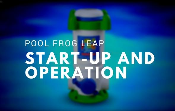 Pool Frog Leap - Start-up